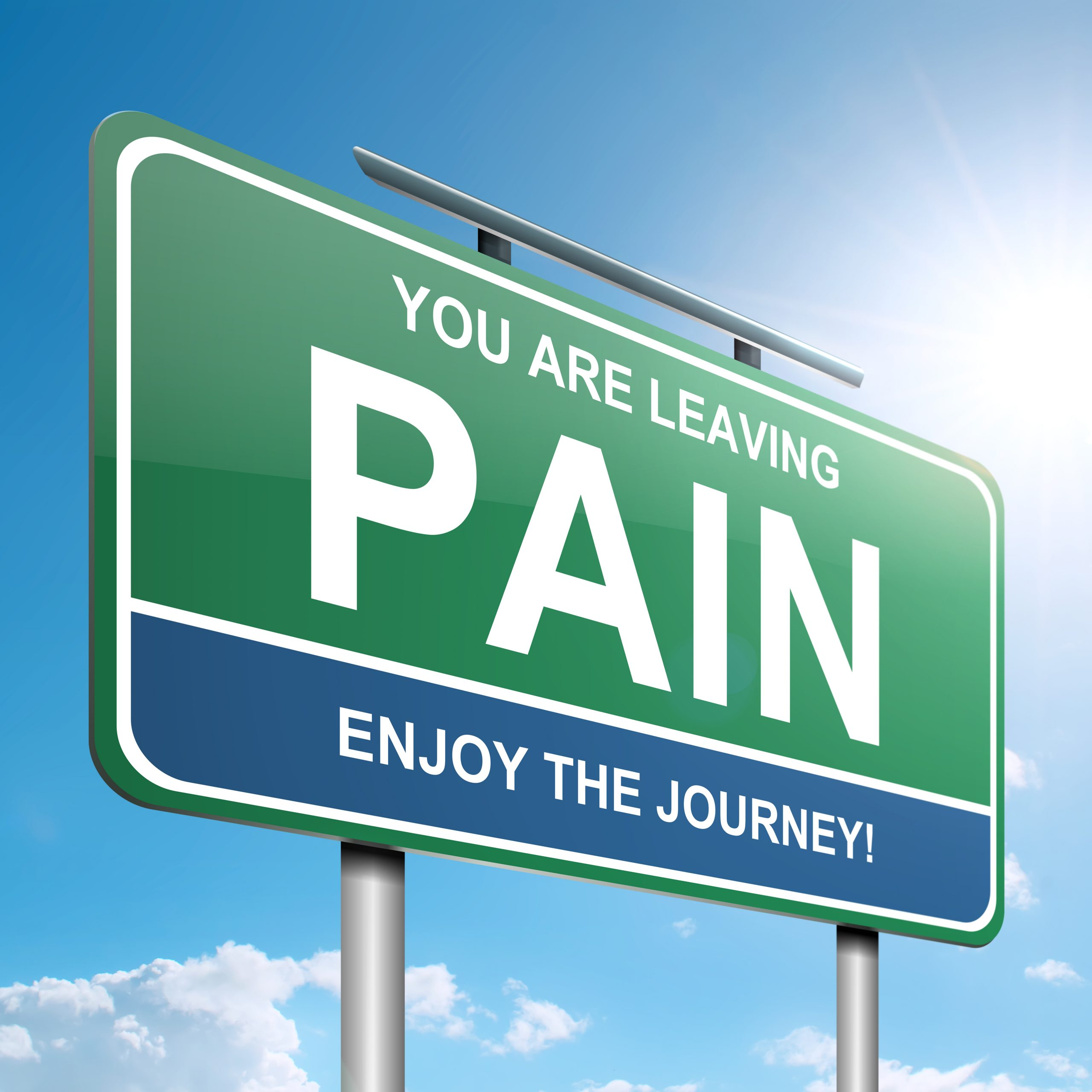 Chronic pain relief with CBD